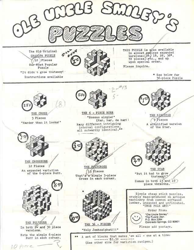 puzzle instructions